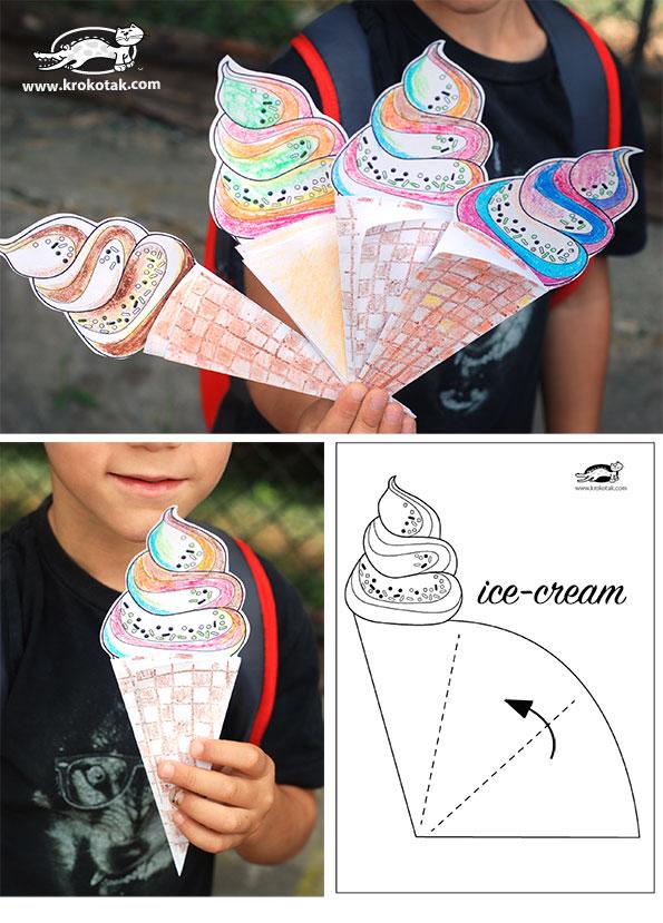 helado de crema