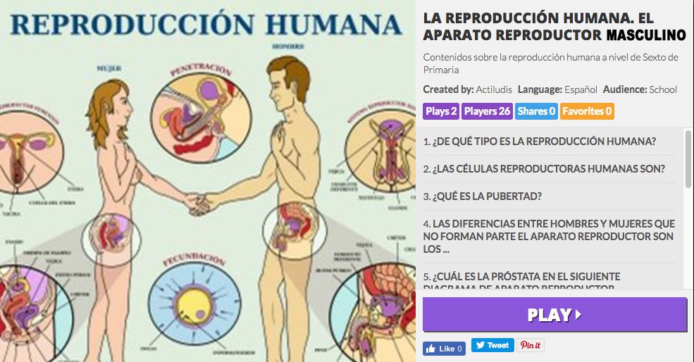 La reproducción humana: los aparatos reproductores masculinos y ...
