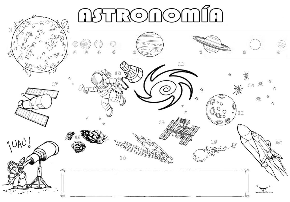 Astronomía: \