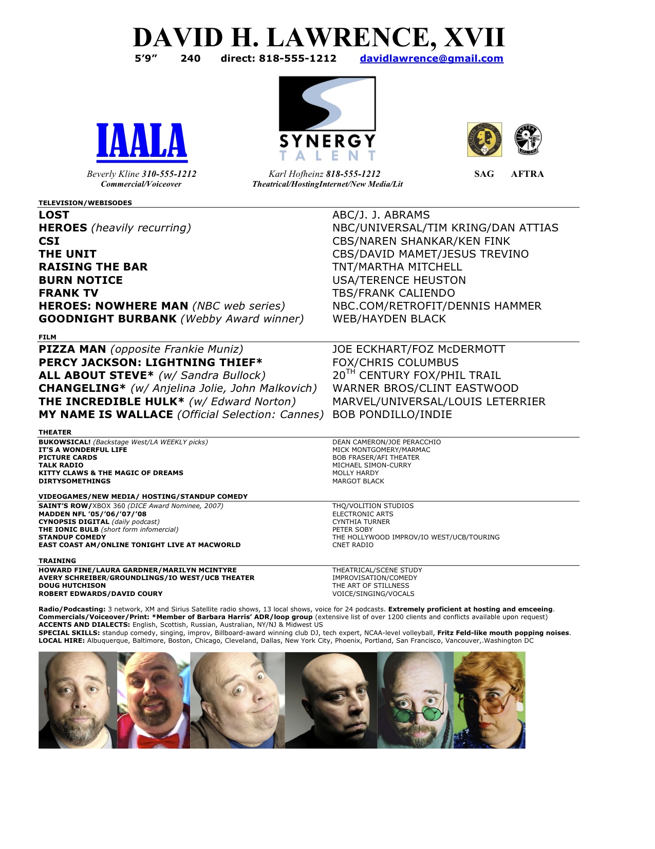 resume examples child actor resume sample musical theatre resume