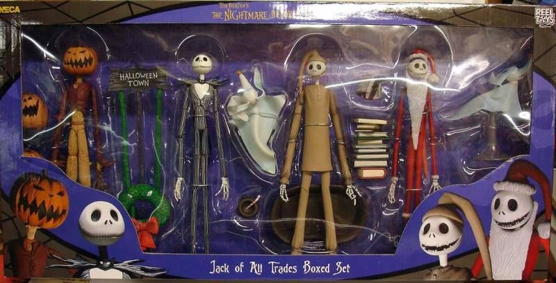 What Nightmare Before Christmas Toys Did NECA Make