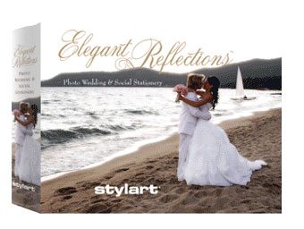 Elegant Reflections Stylart Wedding Invitations