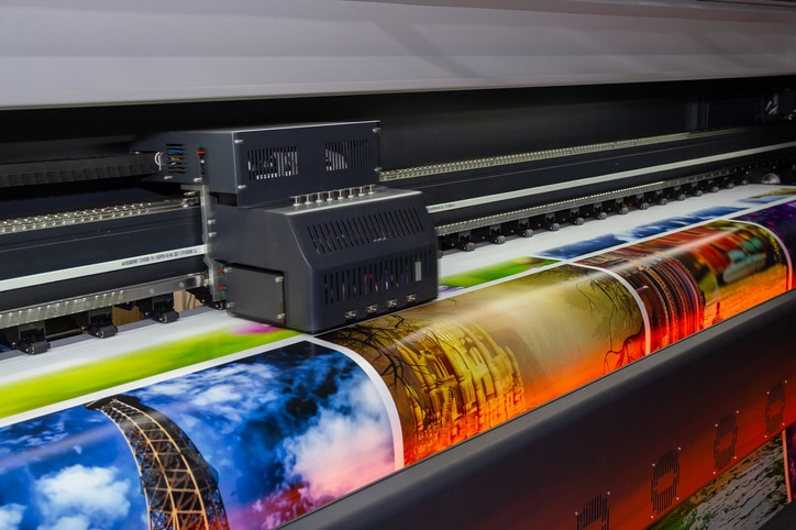 what is large format digital printing