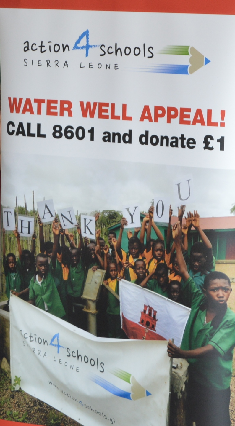 Carol Singing 17th December 2016 Water Well Appeal