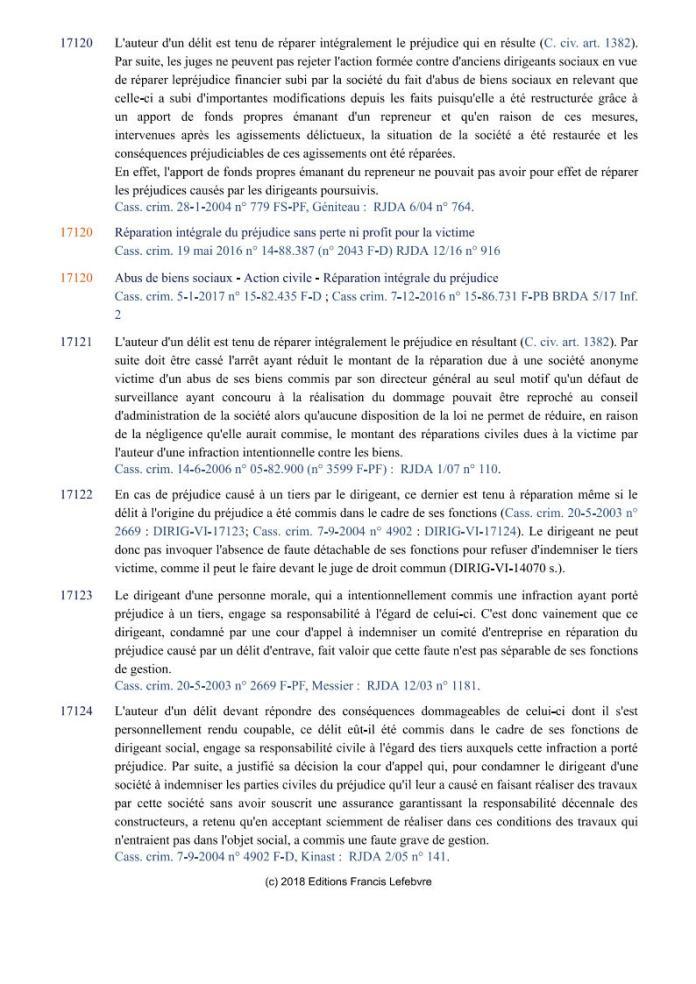 ÉDITIONS FRANCIS LEFEBVRE Définition de laction civile Page4 - Définition de l'action civile qui a permis à RANARISON Tsilavo de se faire attribuer 1.500.000.000 ariary alors qu'il ne peut pas être partie civile par les Editions Francis LEFEBVRE