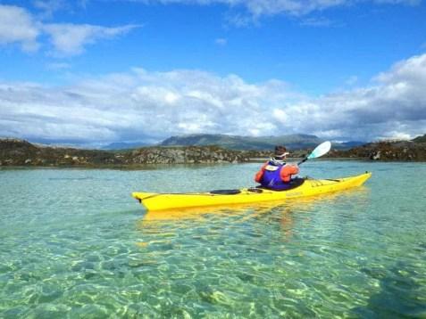 Sea Kayaking Scotland Trail Central - Kayaking Scotland West Coast