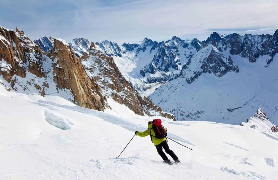 Ski Touring in Chamonix, Mont Blanc Ski Touring, 7 Days Tour, France