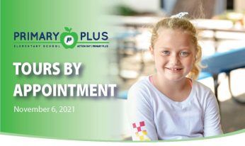 Primary Plus Tours by Appointment