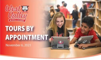 Middle School Tours by appointment