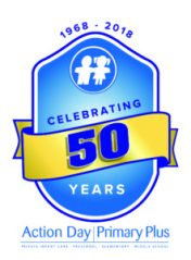 Celebrating 50 years Action Day Primary Plus