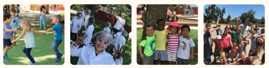 All ages activities in our summer camp tiki