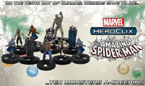 Spiderman HeroClix Classic Monsters