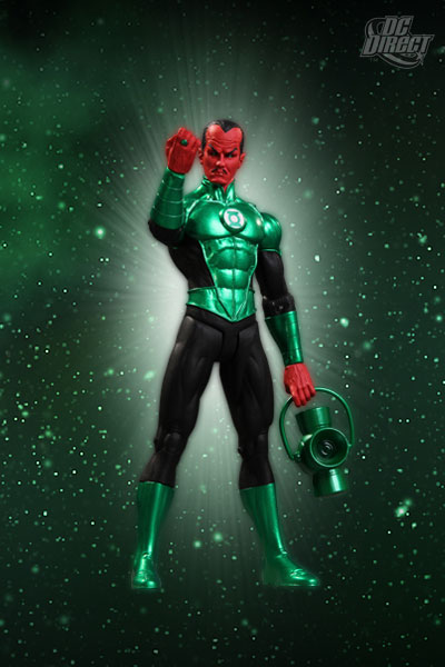 DC Direct Green Lantern Sinestro figure