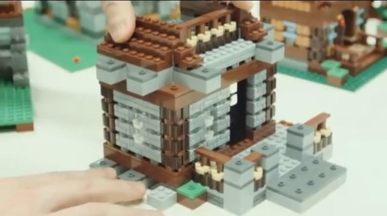 Action Figure Insider Lego Minecraft Co Build Update Video Steve S Shelter