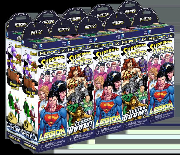 Heroclix Superman Legion of Super-Heroes # 25 Mano