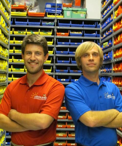 Builders in Model Shop