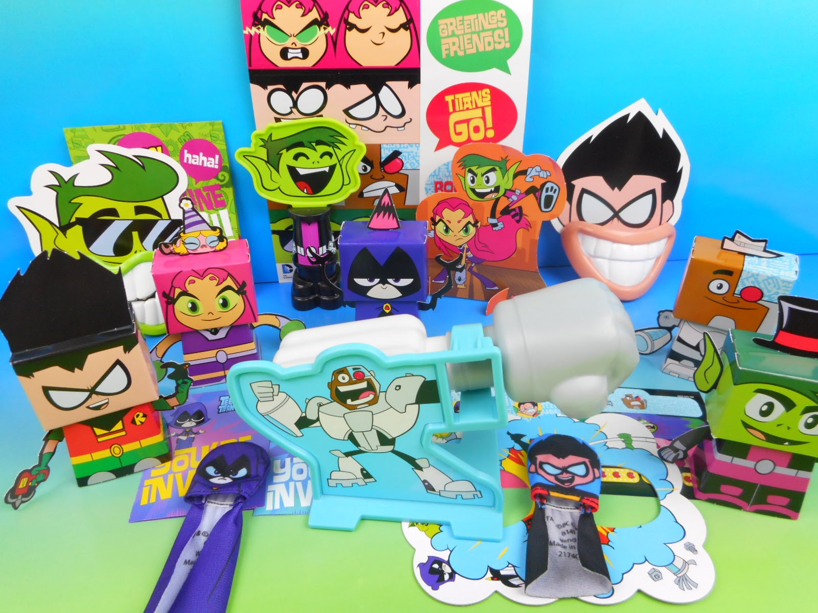 Teen Titan Toy : Action figure insider teen titans go featured in wendy