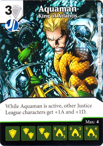 Dice Masters Justice League Aquaman