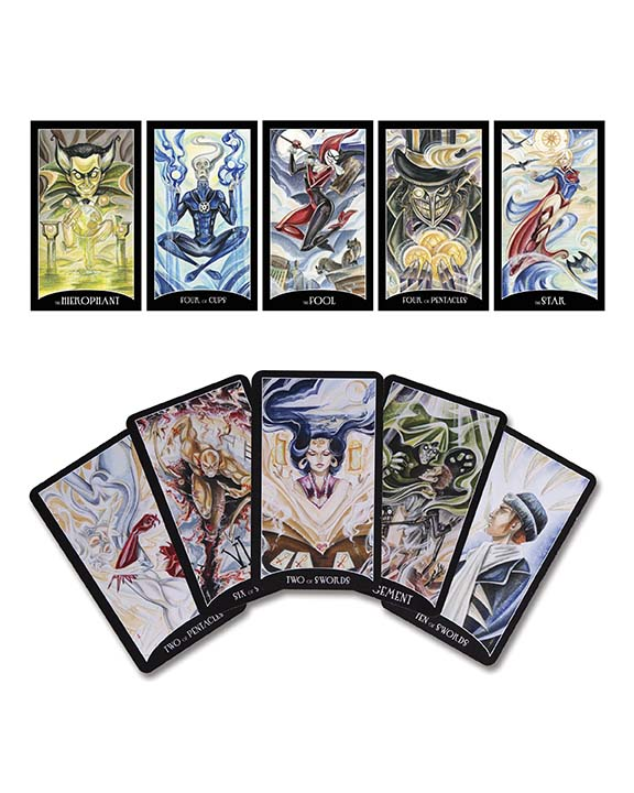 JusticeLeague_TarotCards