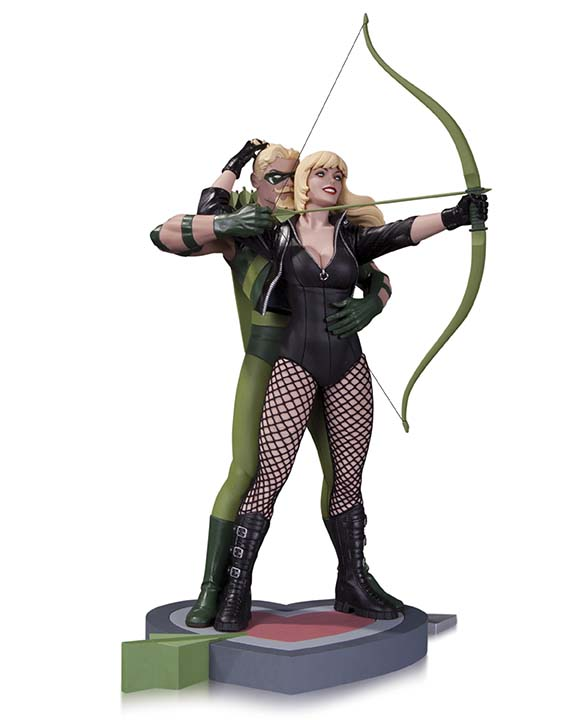 GreenArrow_BlackCanary_Statue