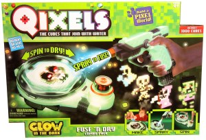 Qixels Glow in-th-Dark Combo Box