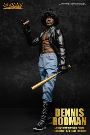 Dennis Rodman Bad Boy Storm Collectibles