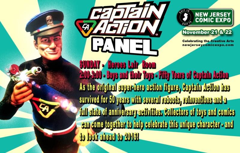 NJ Comic Expo Panel