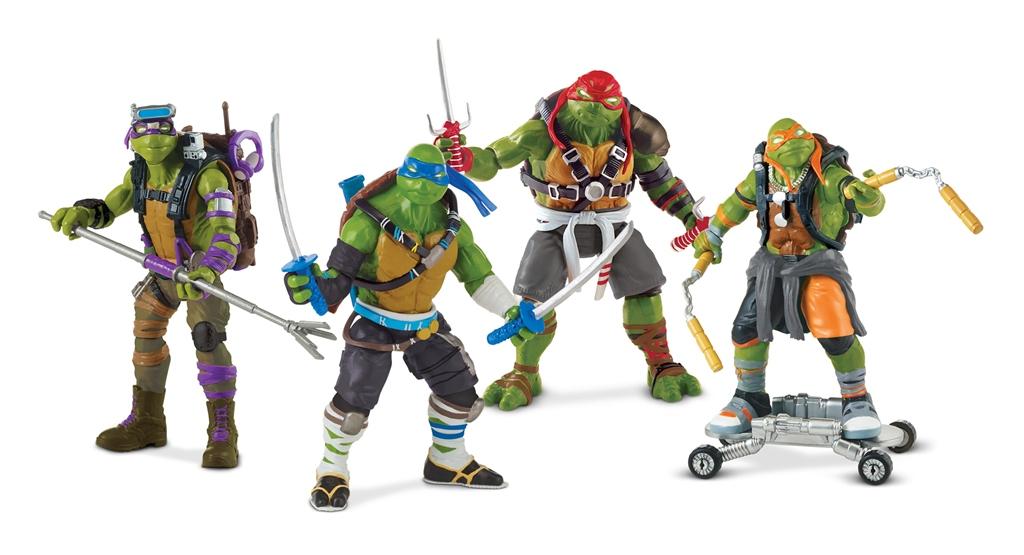 Action Figure Insider Teenage Mutant Ninja Turtles Come Out Of