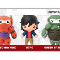 #85045 Big Hero Six 3D Keyring 5PC Set_R1-02