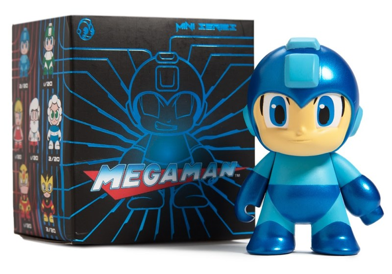 Mega Man Metallic 3-inch Figure Limited Edition 1500 pieces $15