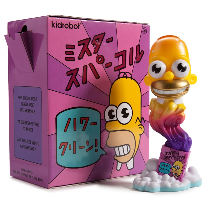 "The Simpsons Kaiju ""Mr. Sparkle"" 7-inch Figure Limited Edition 500 pieces $50"