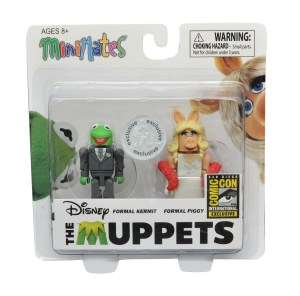 Muppets Minimates Exclusive Kermit and Miss Piggy 2-Pack (In Package)