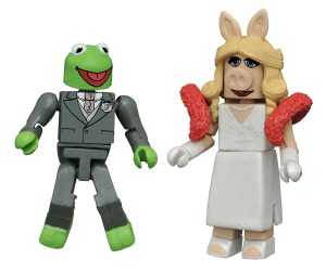 Muppets Minimates Exclusive Kermit and Miss Piggy 2-Pack (OOP)