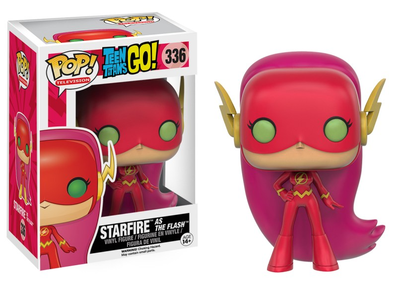 POP! TV Teen Titans Go! Starfire As The Flash (In Package and OOP)