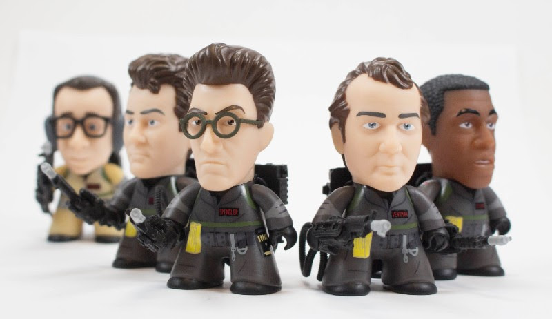 """Ghostbusters Titans 3/"""" Vinyl Figures Collection I Aint Afraid Of No Ghost 2 3"""
