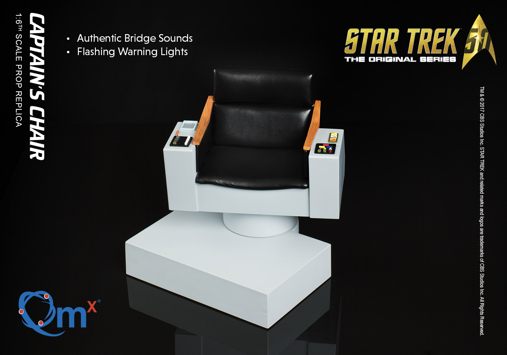 June 2017 Product Roundup | G & T Show | Star Trek TOS Captain's Chair prop replica