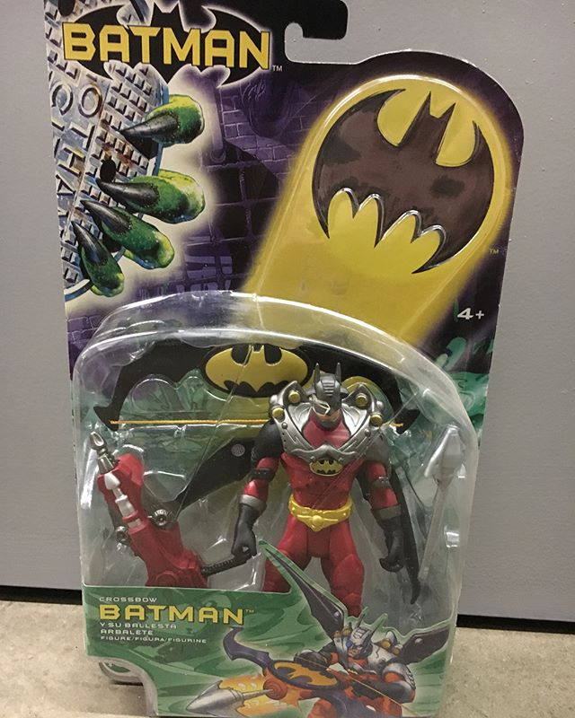 "I was working in my storage unit this weekend and came across these Rare European Release @mattel 6"" Batman Variant Figures I figured not many folks have seen."