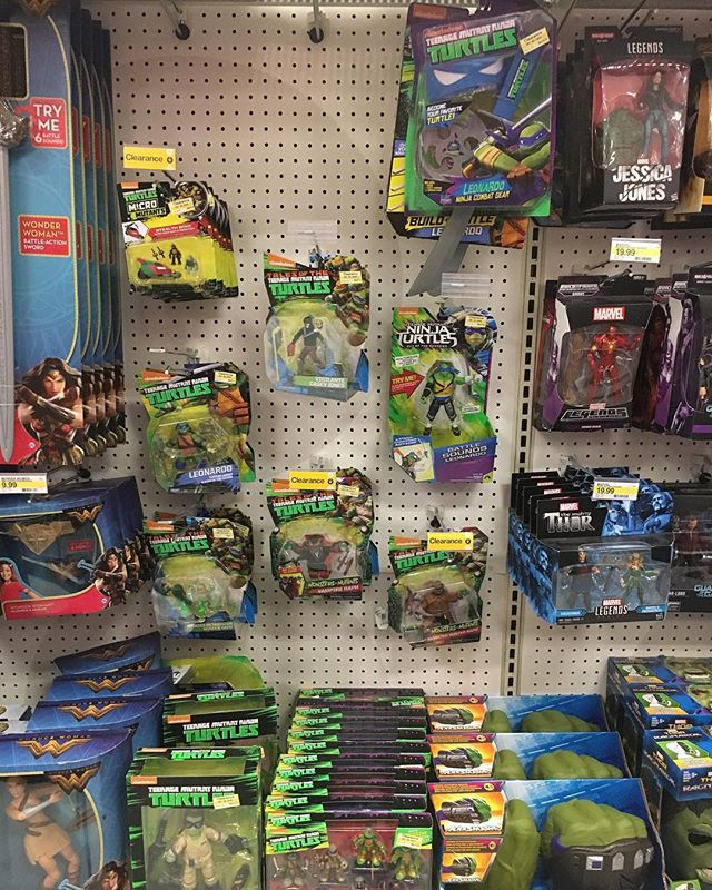 It's the end of @playmatestsoy current @nickelodeon line. @target is clearancing everything to make way for what's next.