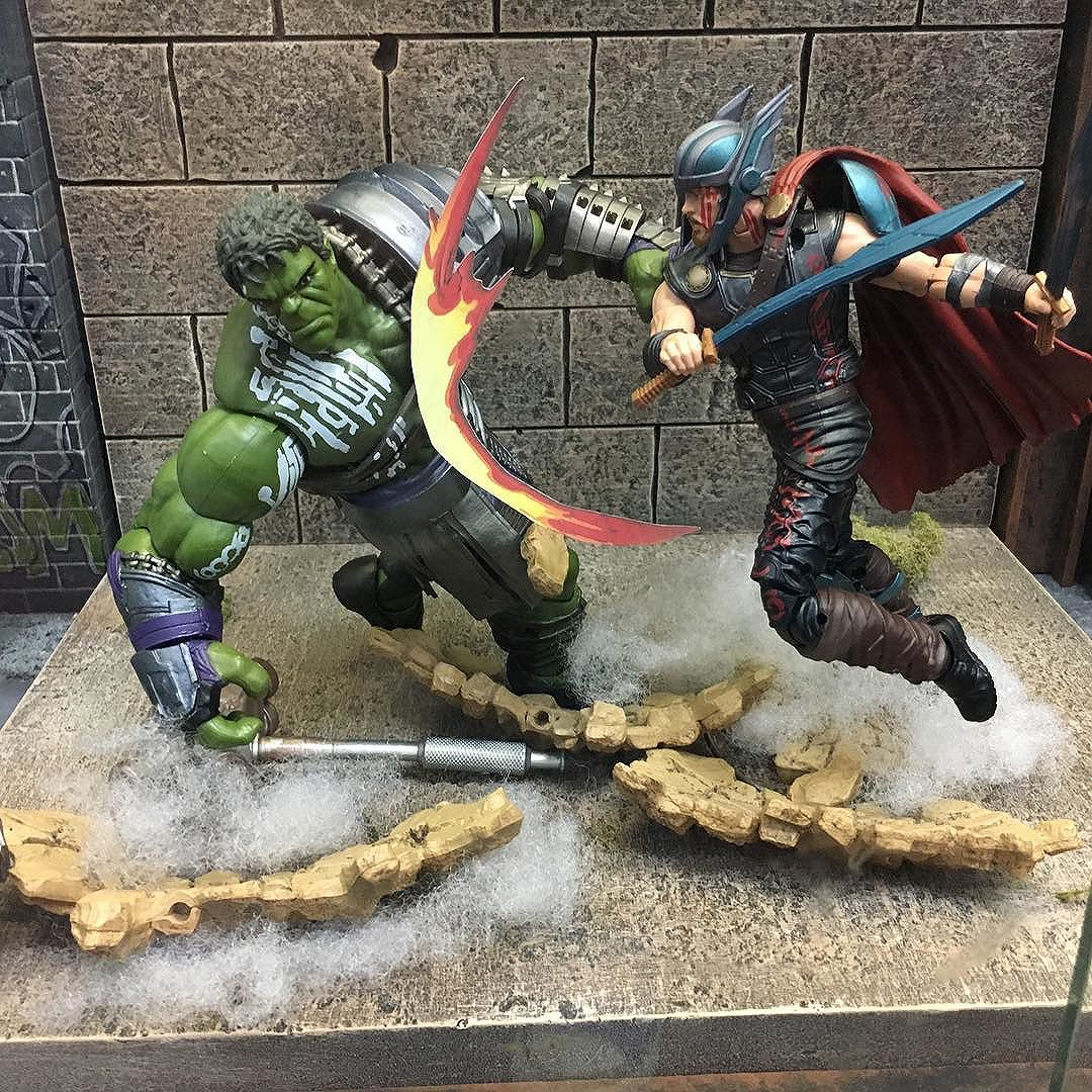 Another awesome @hasbro diorama at @thecomicbug