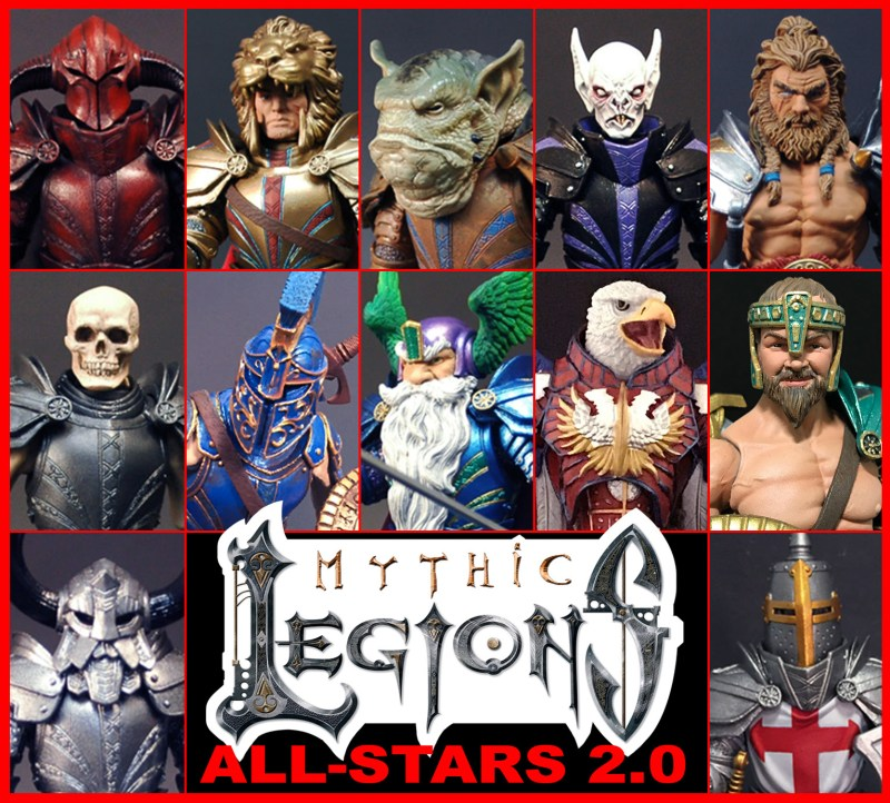 Action Figure Insider 187 Mythic Legions All Stars 2 0 Pre