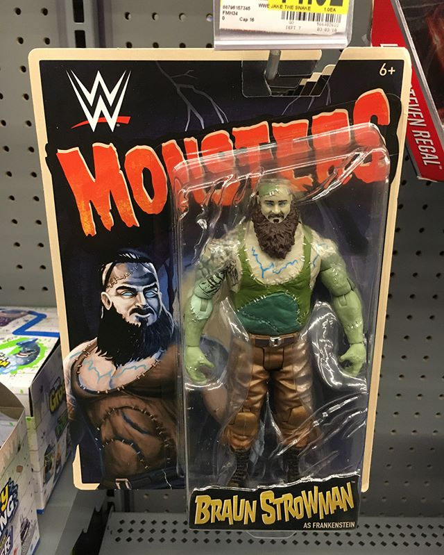 Spotted the new Monsters wave for the first time today