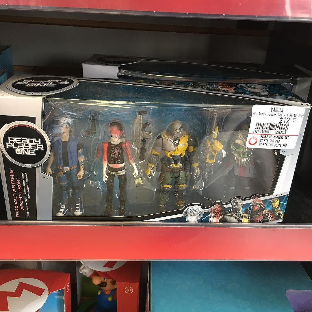 @readyplayerone 4-pack from @originalfunko is out now at @gamestop