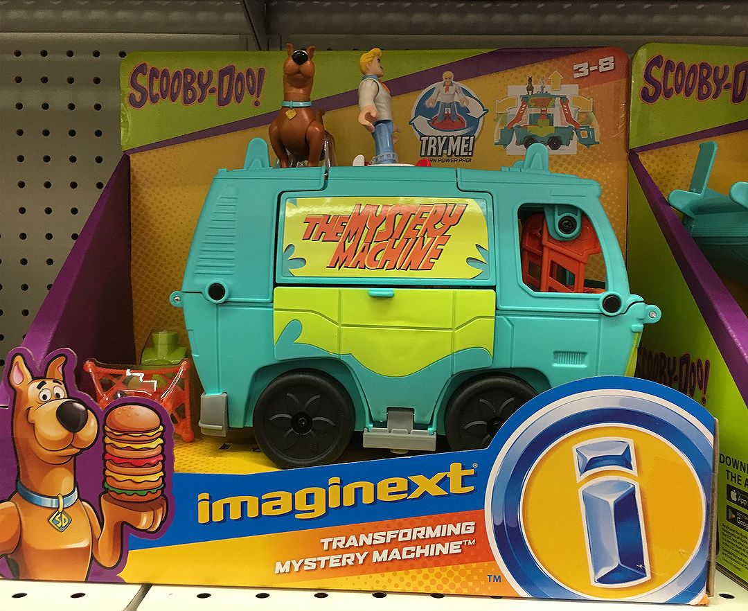Spotted at @toysrus this weekend - the new exclusive @imaginext sets