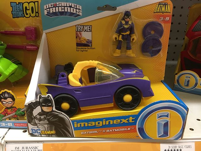 @imaginext has repainted their -like for