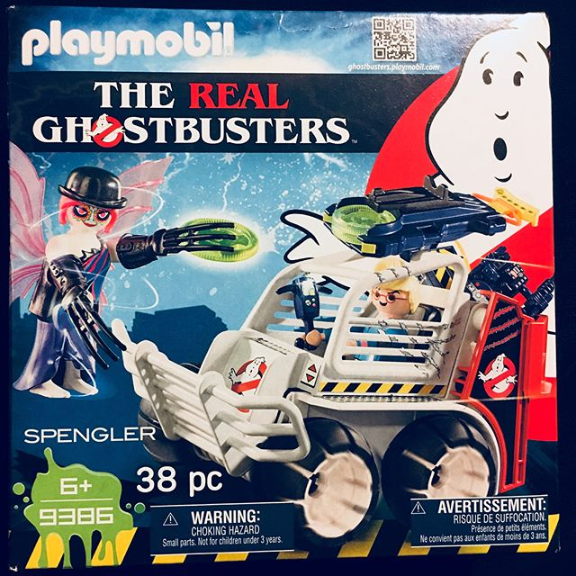First they brought you and Ghostbusters 2 NOW @playmobil is taking on ! Here's a sneak peek at
