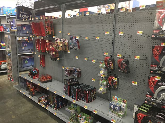 I swear, ever since @toysrus started their liquidation sale all the @walmart store have stopped ordering and stocking new toys.