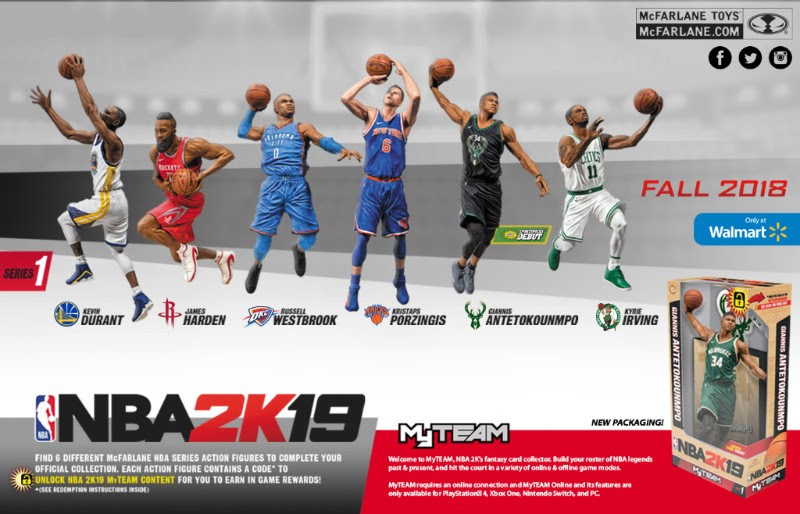 Action Figure Insider Mcfarlane Toys Partners With 2k To Bring Nba 2k19 Into Their Sports Figure Line