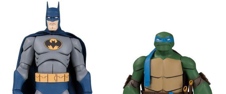 Action Figure Insider Dc Collectibles Announce Full Line Of Batman Vs Teenage Mutant Ninja Turtles 2 Packs Tmnt Dccollectibles Batmanvsteenagemutantninjaturtles Tmnt Gamestop Dccomics