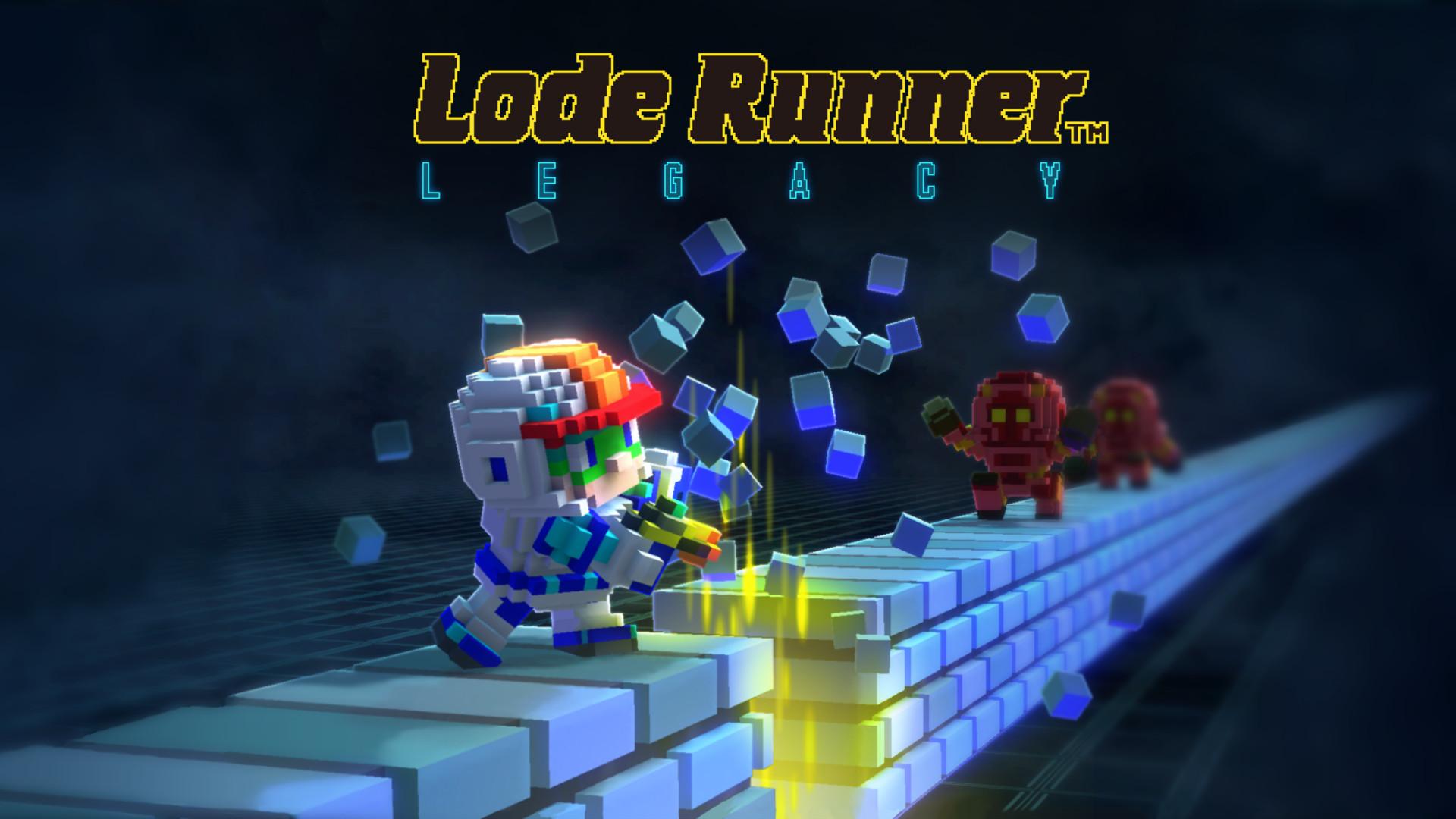 LodeRunnerLegacy keyVisual withLogo