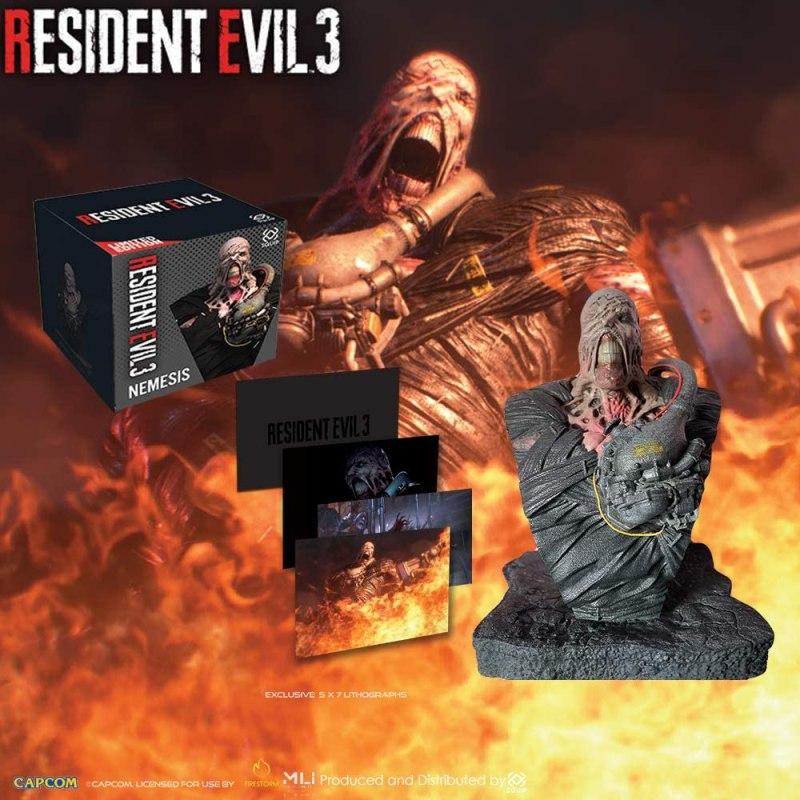 Action Figure Insider Capcom Resident Evil 3 Nemesis Bust
